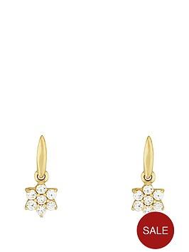 love-gold-9ct-yellow-gold-cubic-zirconia-flower-drop-earring