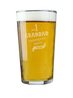 personalised-no-1-grandad-pint-glass