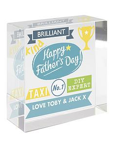 personalised-fathers-day-crystal-block