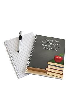 personalised-teacher-notebook