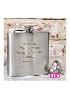 personalised-stainless-steel-hipflask