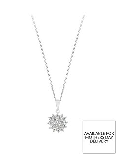 love-gem-sterling-silver-cubic-zirconia-cluster-pendant