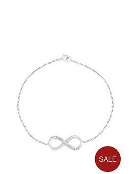 the-love-silver-collection-sterling-silver-cubic-zirconia-infinity-bracelet
