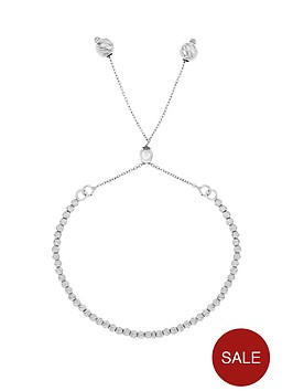 the-love-silver-collection-sterling-silver-rhodium-plated-textured-adjustable-friendship-bracelet
