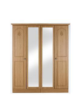 heather-4-door-mirrored-wardrobe