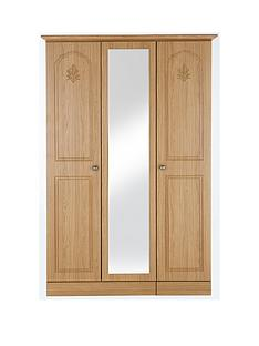 heather-3-door-mirrored-wardrobe