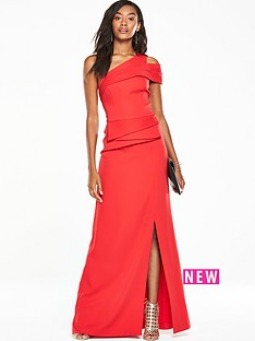 v-by-very-one-shoulder-peplum-maxi-dress-red