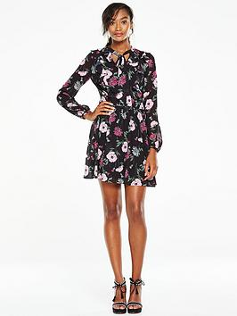 v-by-very-printed-ruffle-tea-dress