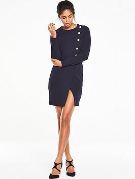 v-by-very-ponte-button-dress