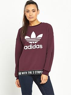 adidas-originals-trefoil-sweatshirt-with-waistbandnbsp