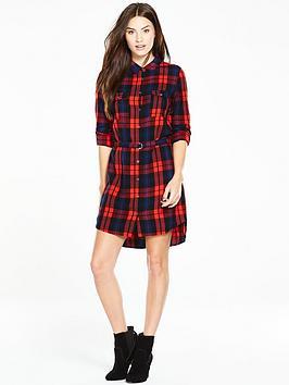 v-by-very-check-shirt-dress