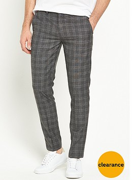 river-island-skinny-fit-checked-trousers