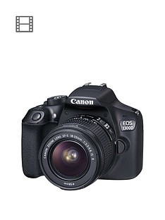 canon-eos-1300d-slr-camera-inc-ef-s-18-55mm-f35-56-is-ii-lens-amp-free-canon-300-eg-dslr-backpack