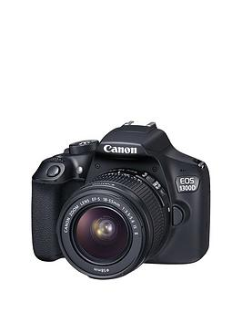 canon-eos-1300d-slr-camera-inc-ef-s-18-55mm-f35-56-is-ii-lensnbspsave-pound30-with-voucher-code-mjwth