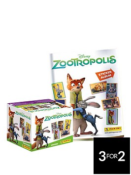 zootropolis-panini-sticker-collection-50-packets-of-stickers-starter
