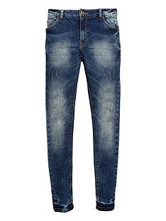v-by-very-boys-distressed-blue-wash-skinny-jeans