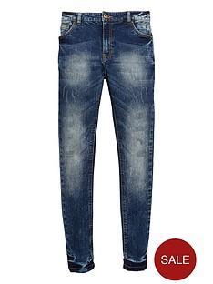 v-by-very-boys-distressed-blue-wash-skinny-jeans
