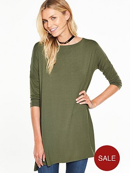 v-by-very-34-sleeve-essential-tunic-top