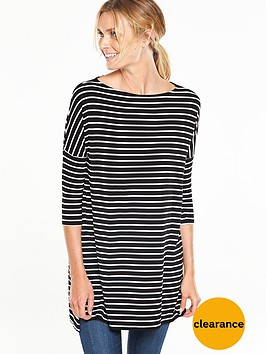 v-by-very-three-quarter-sleeve-essential-tunic-top