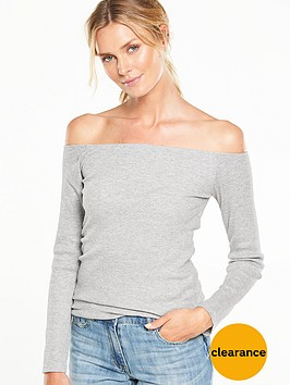 v-by-very-simple-ribbed-bardot-top