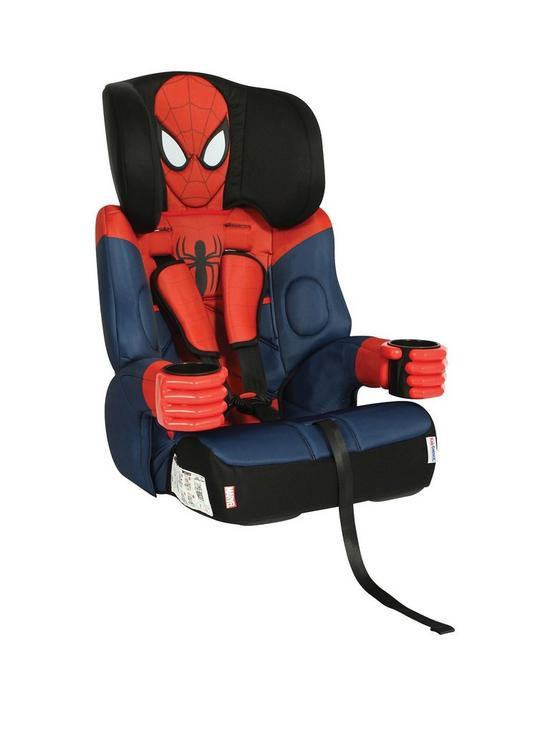 Kids Embrace Spiderman Group 123 Car Seat