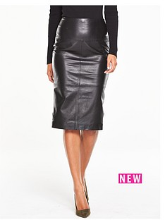 v-by-very-premiumnbspleather-pencil-skirt-black