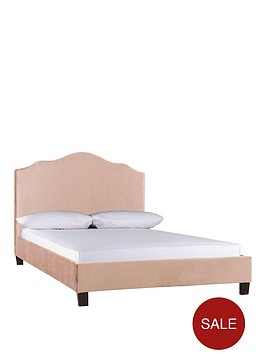 merlin-fabric-double-bed-frame-with-optional-mattress