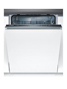 Bosch Serie 2 SMV40C00GB 12-Place Full Size Integrated Dishwasher with ActiveWater™ Technology - White