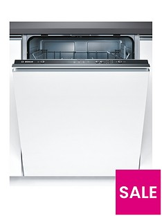 Bosch Serie 2 SMV40C00GB 12-Place Full Size Integrated Dishwasher with ActiveWater™ Technology - White  Best Price, Cheapest Prices