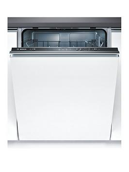 Bosch Serie 2 Smv40C00Gb 12-Place Full Size Integrated Dishwasher With Activewater&Trade; Technology - White