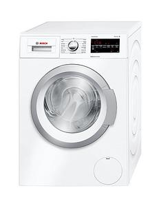 Bosch Serie 6 WAT24420GB 8kg Load, 1200 Spin Washing Machine with ActiveWater - White