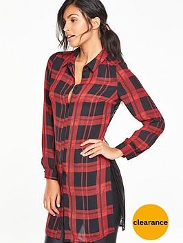 v-by-very-lace-back-longline-blouse