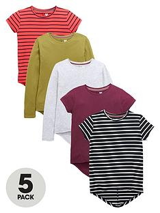 v-by-very-girls-short-and-long-sleeve-t-shirts-5-pack