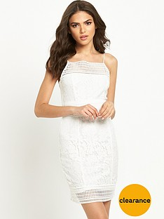 ax-paris-lace-bodycon-dress-cream
