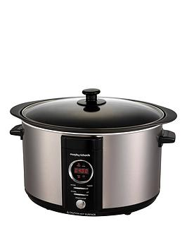 morphy-richards-morphy-richards-stainless-steel-65l-digital-sear-amp-stew-slow-cooker