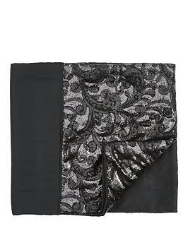 sequin-floral-lace-border-runner-in-black