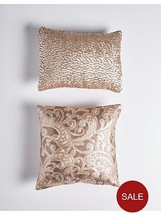 sequin-floral-lace-cushion-pair