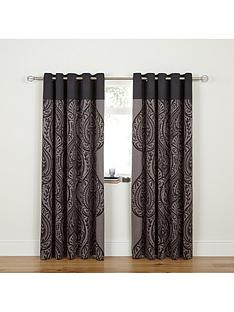 laurence-llewelyn-bowen-damask-print-lined-eyelet-curtains