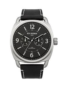 ben-sherman-ben-sherman-covent-multi-funcion-black-dial-black-leather-strap-mens-watch