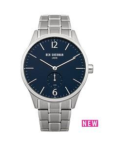 ben-sherman-ben-sherman-spitalfields-professional-blue-dial-stainless-steel-bracelet-mens-watch