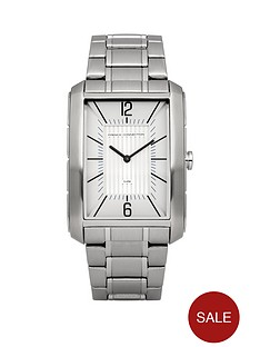 french-connection-french-connection-white-rectangular-dial-stainless-steel-bracelet-mens-watch