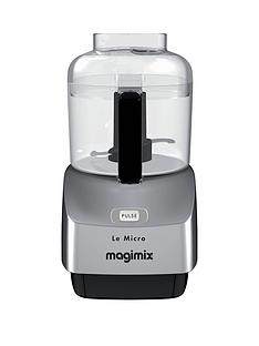 Magimix Le Micro Mini Chopper - Satin