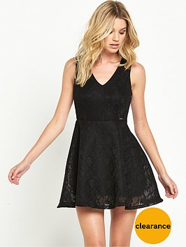 guess-adelia-lace-skater-dress