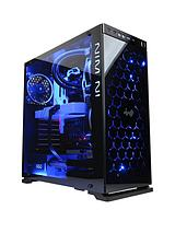 LUXE VR Xtreme Intel® Core™ i7 Processor, 32Gb RAM, 2Tb Hard Drive & 240Gb SSD, PC Gaming Desktop Base Unit with Nvidia 6Gb Dedicated Graphics GTX980Ti - Black/Blue