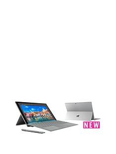 microsoft-surface-pro-4-intelreg-coretrade-i5-processor-8gb-ram-256gb-solid-state-drive-wi-fi-123-inch-alcantara-tablet-with-optional-microsoft-office-grey