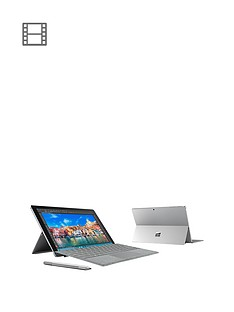 microsoft-surface-pro-4-intelreg-m3-processor-4gb-ram-128gb-ssd-wi-fi-123-inch-alcantara-tablet-with-optional-microsoft-office-grey