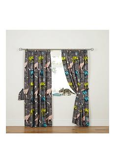 dinosaur-curtains