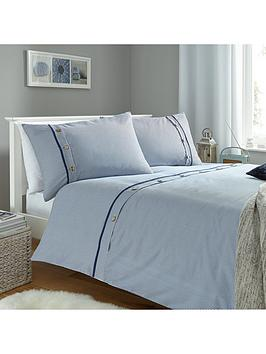 buttoned-stripes-duvet-cover-set