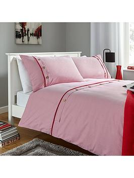 buttoned-stripes-duvet-set-red