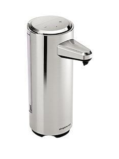 simplehuman-rechargeable-sensor-soap-pump-in-brushed-nickel-ndash-237ml-capacity